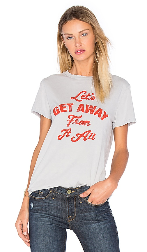 MATE the Label Lets Get Away Tee in Gray
