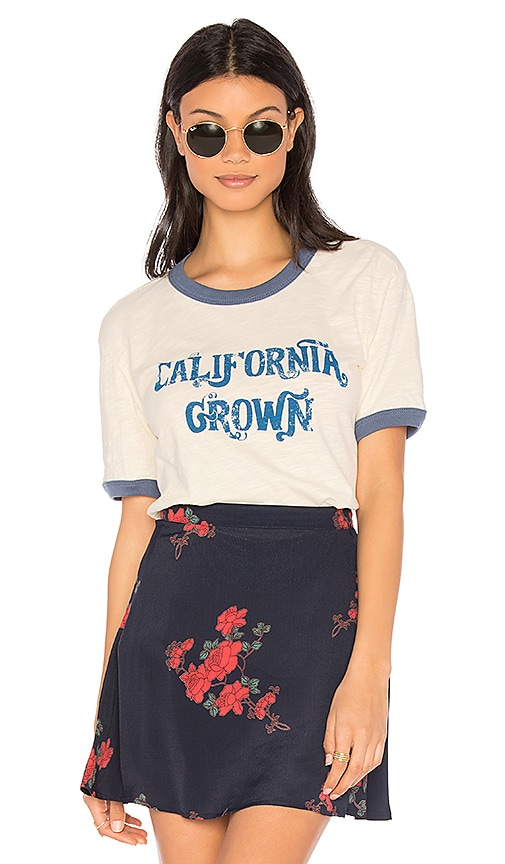 MATE the Label Olivia Ring California Grown Tee in Ivory