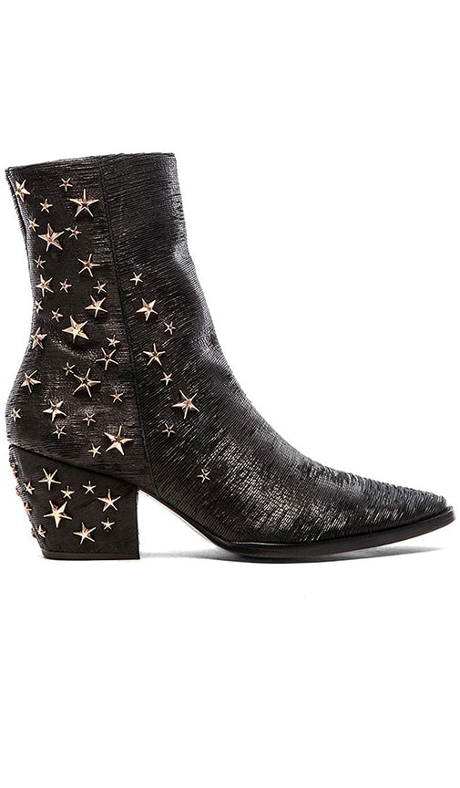 x Kate Bosworth Charlotte Zip Star Studded Bootie