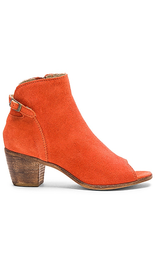Matisse Folk Bootie in Rust