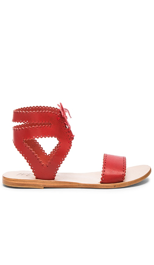 Matisse Natasha Sandal in Red