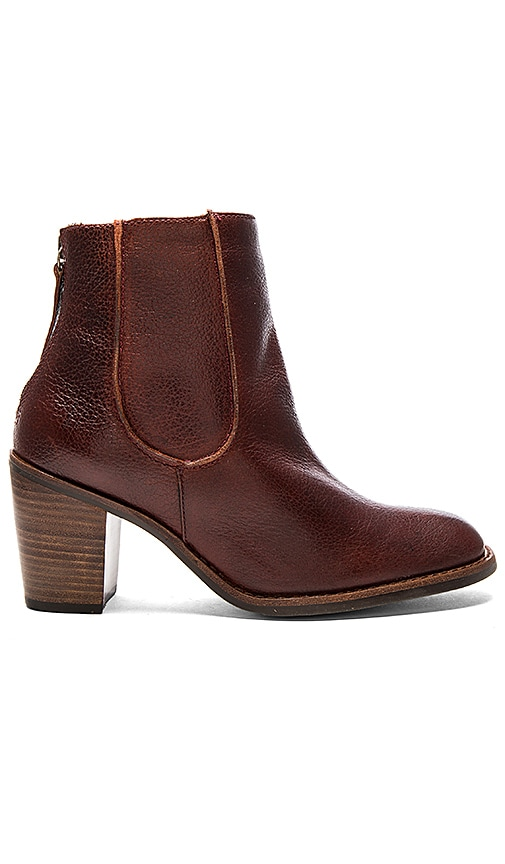 Matisse Mack Booties in Burgundy