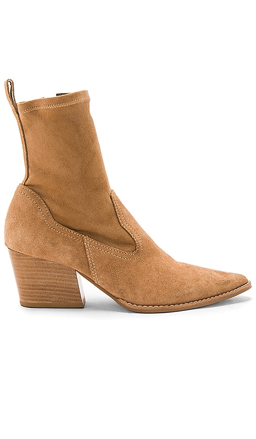 Matisse Flash Bootie in Tan