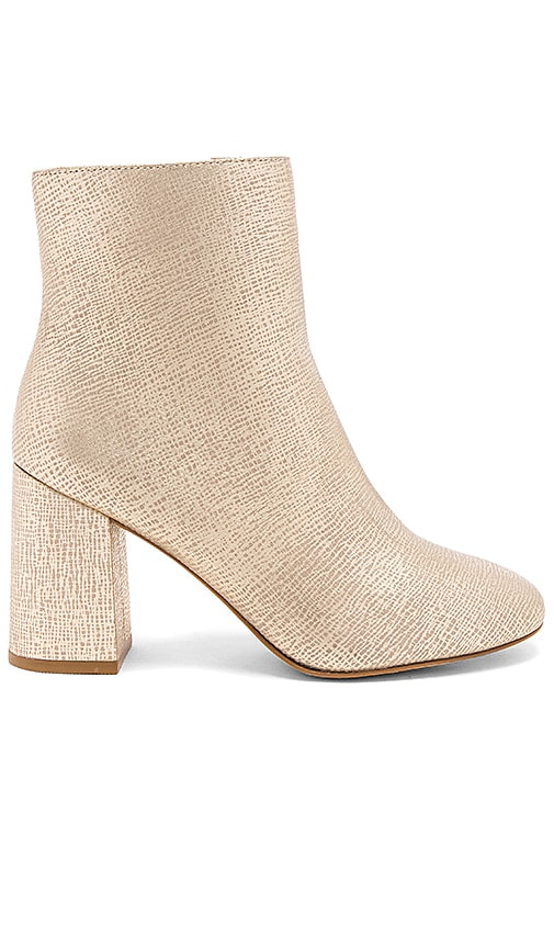 Matisse Grove Bootie in Metallic Gold