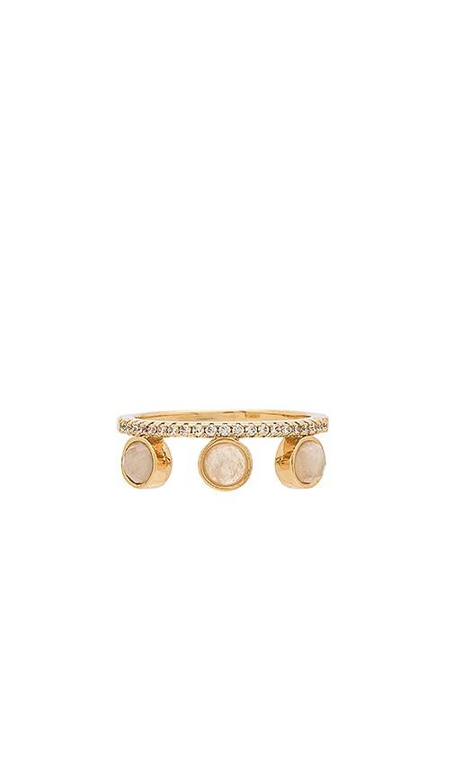 Melanie Auld Circle Stacking Ring in Metallic Gold