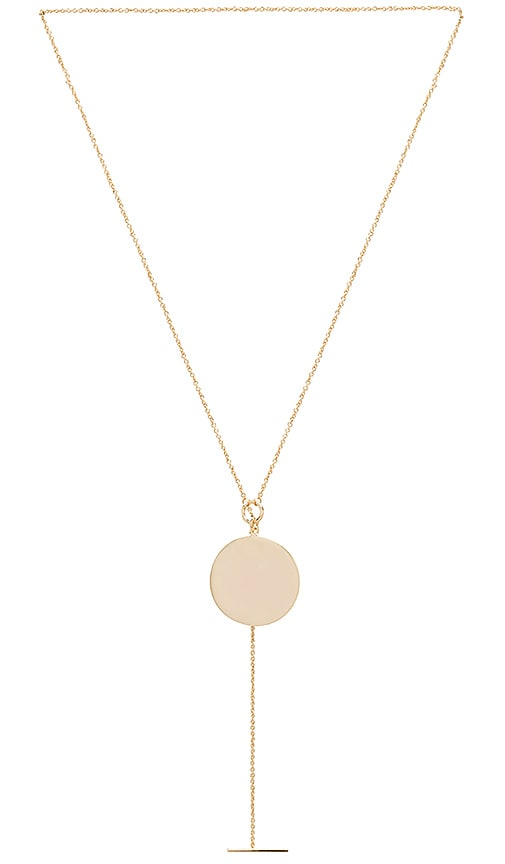 Melanie Auld Toggle Pendant in Metallic Gold