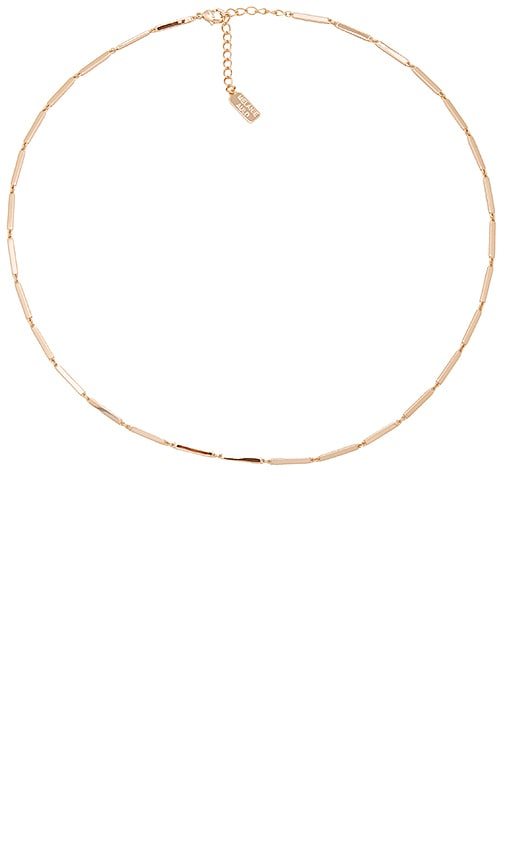 Melanie Auld Paloma Necklace in Metallic Gold