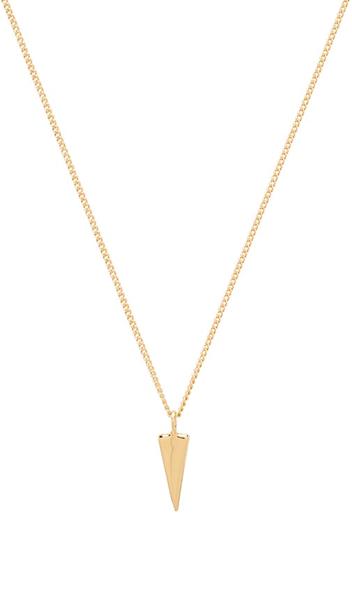 Single Triangle Necklace