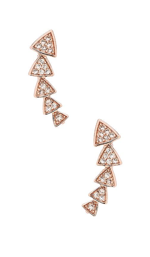 Multi Triangle Ear Cuff