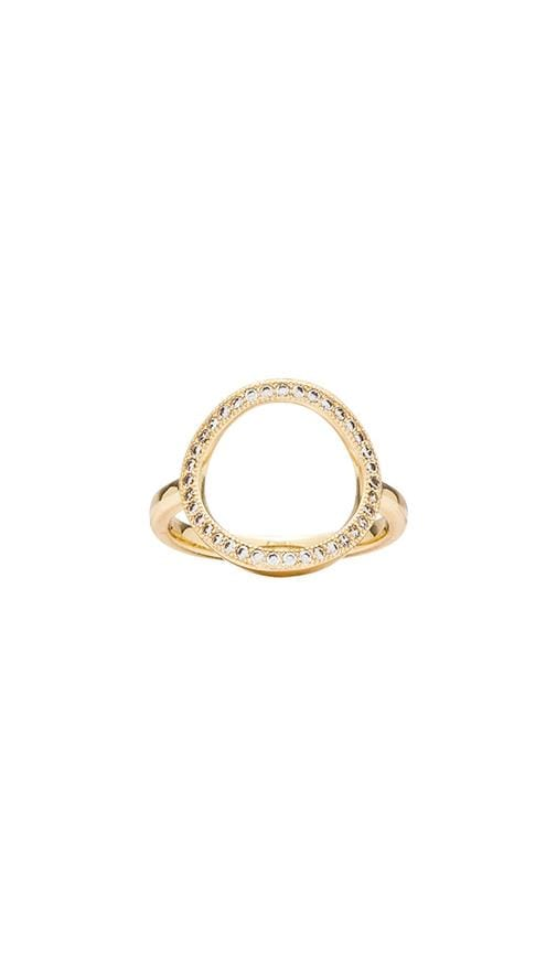 Auld Pave Circle Ring