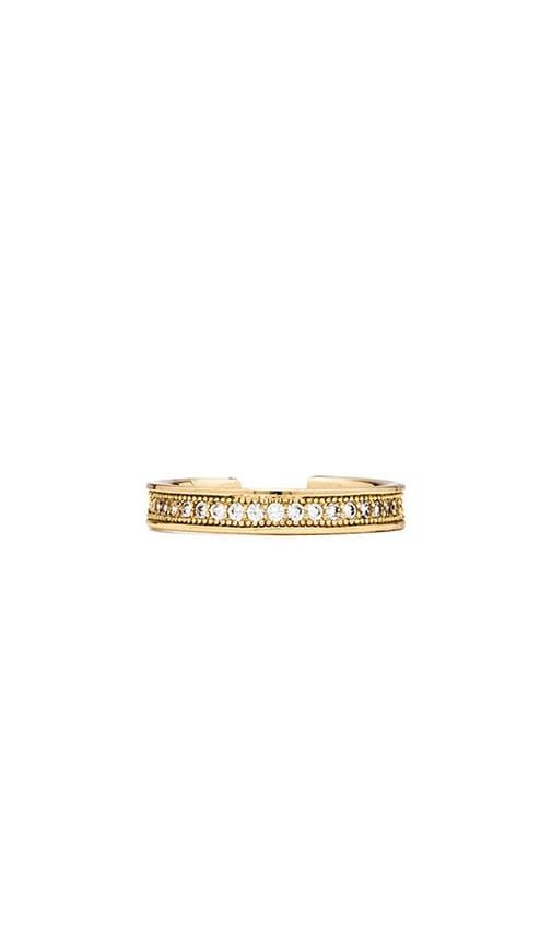 Pave Knuckle Ring