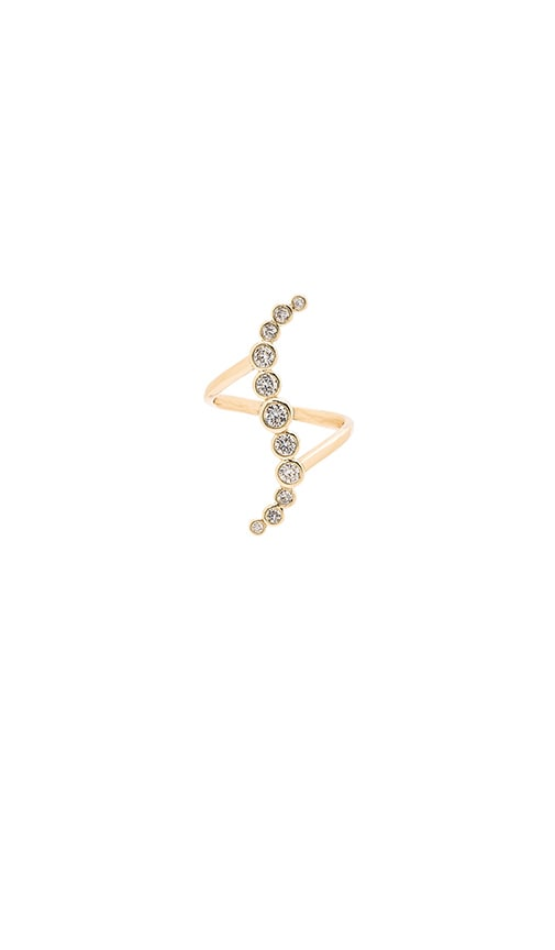 Melanie Auld Gypset Ring in Metallic Gold