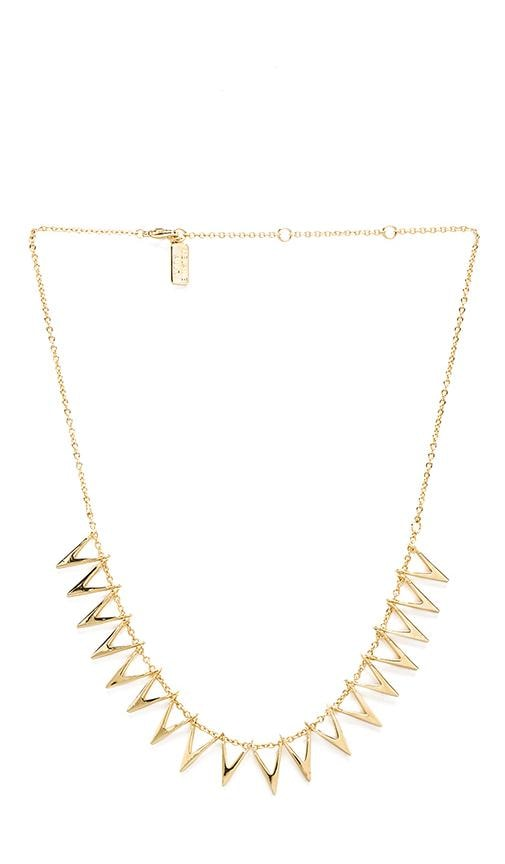 Triangle Silhouette Collar Necklace