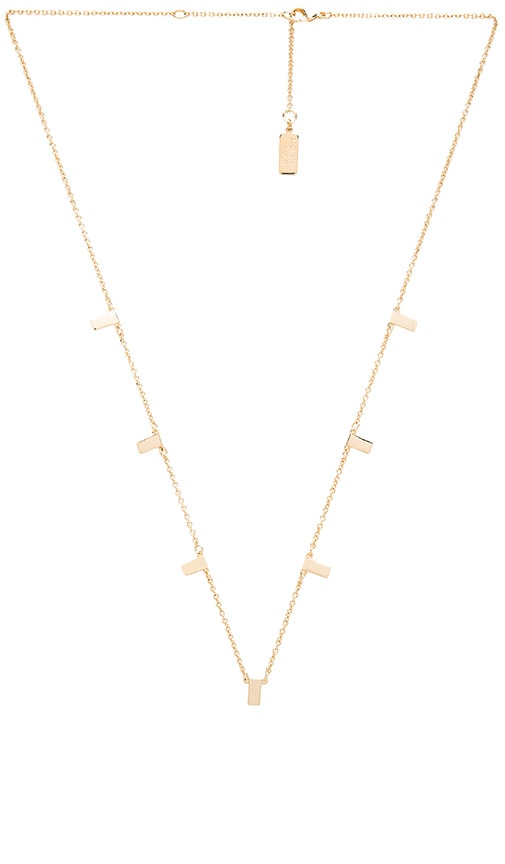 Melanie Auld Multi Bar Necklace in Gold