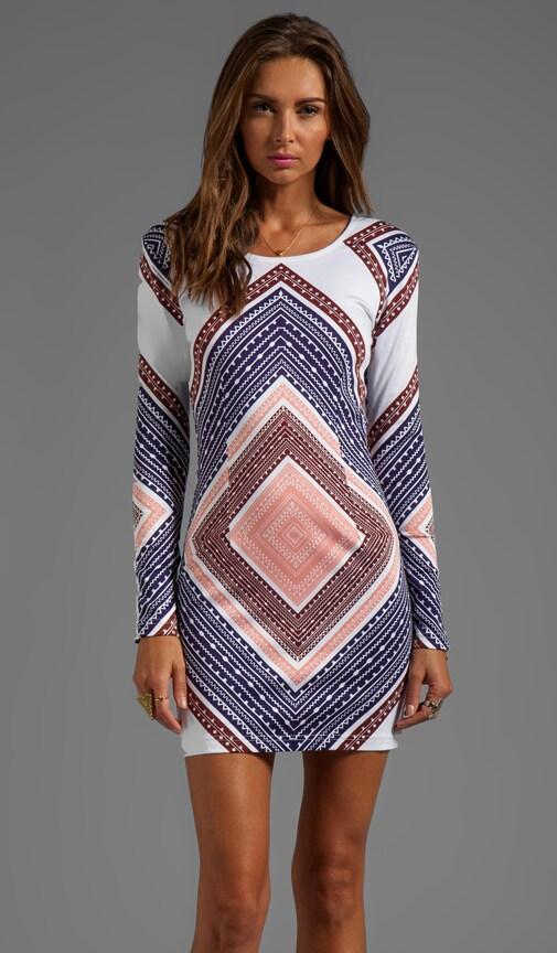 Violet Mesh Dress