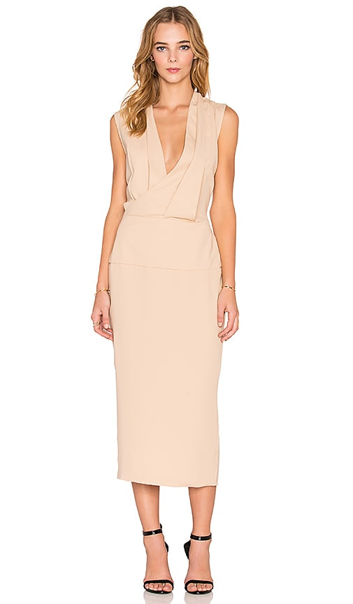 Maurie & Eve Lillianne Dress in Tan