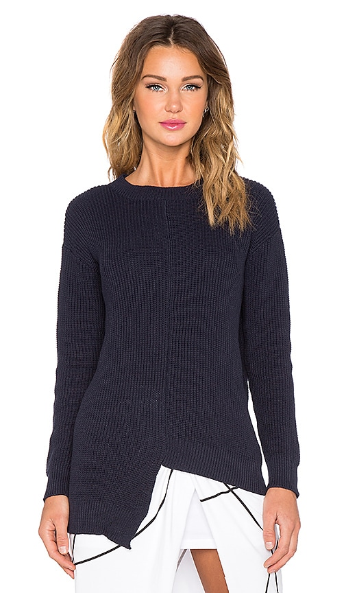 Maurie & Eve Carson Knit Sweater in Midnight