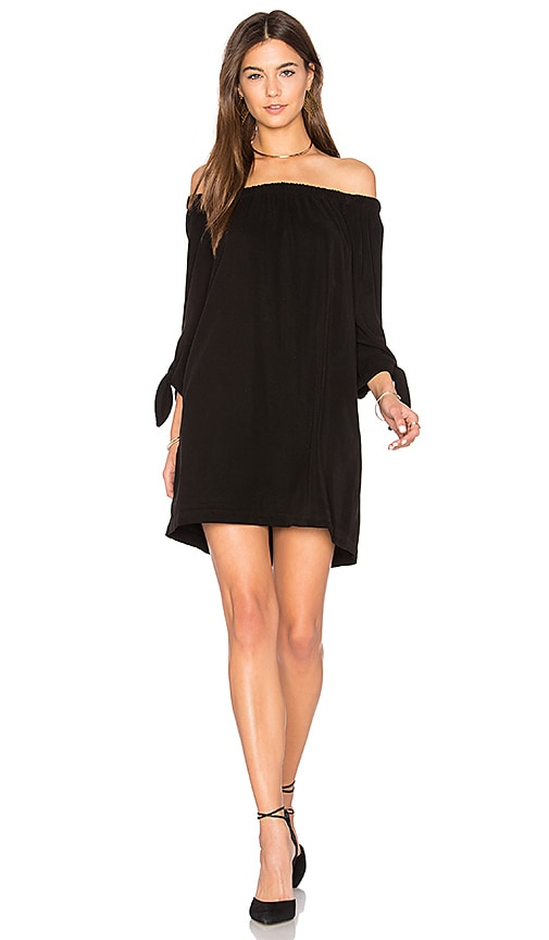 Black Tie Dress - REVOLVE