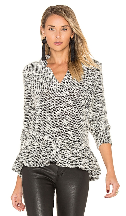 2edfc0f981c maven west Alma Sweater in Black   Cream