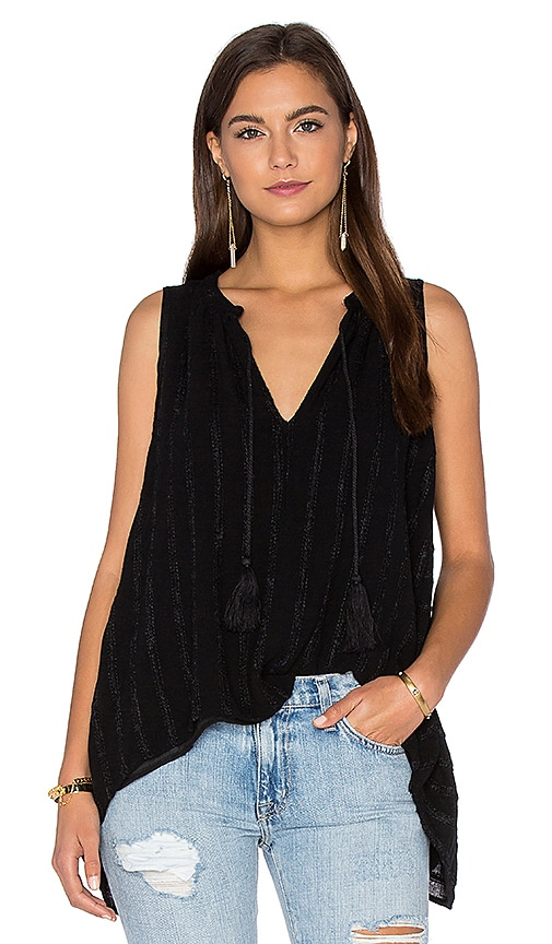 maven west A Line Cami in Black