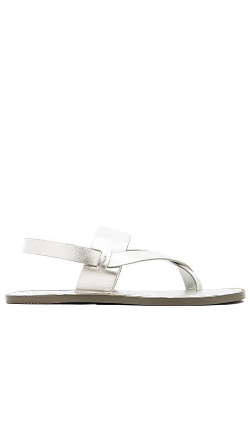 Matt Bernson Athena Strap Over Sandal in Silver