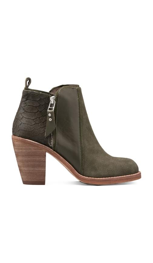 Holt Bootie with Pony Hair