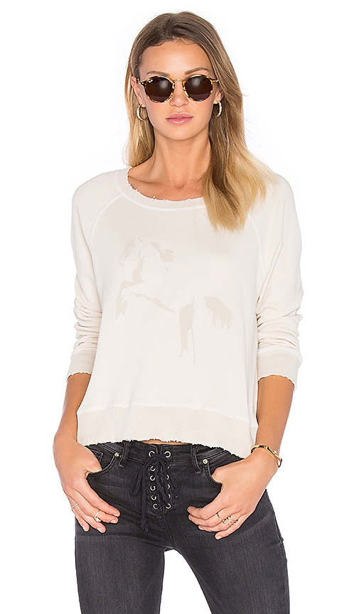 MCGUIRE Fencing Sweatshirt in Ivory