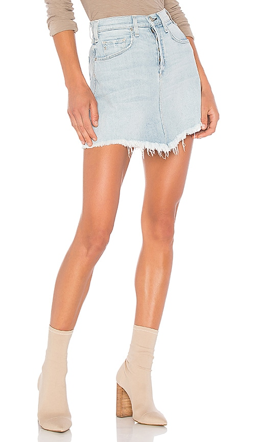 MCGUIRE Izabel High Rise Mini Skirt in Vintage American