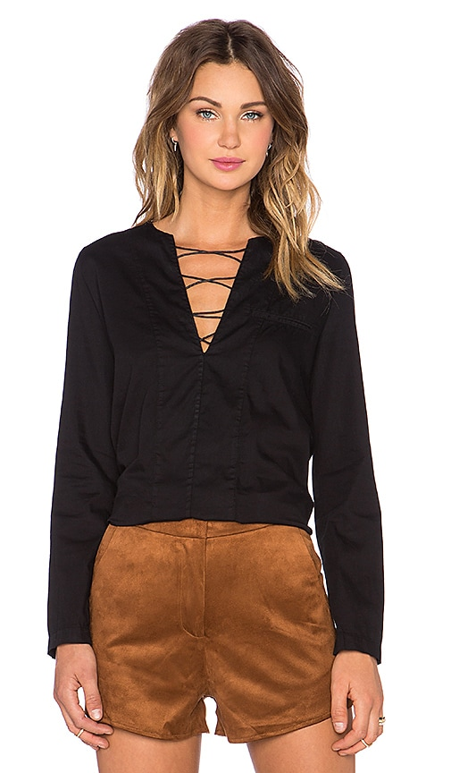 Penelope Lace Up Shirt