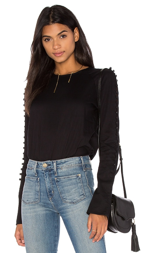 MCGUIRE Moroccan Top in Noir