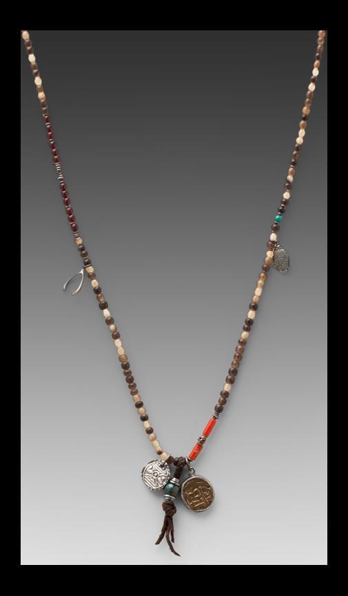 Natural Horn Pendant Bracelet