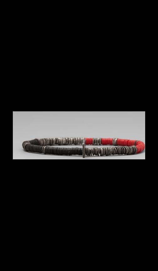 African Vinyl Oxi Disc Bracelet