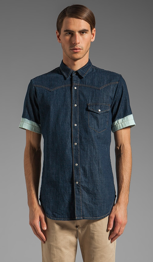 S/S Denim Shirt