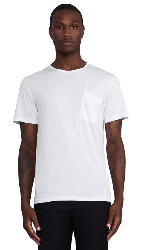 Twisted Pocket Tee