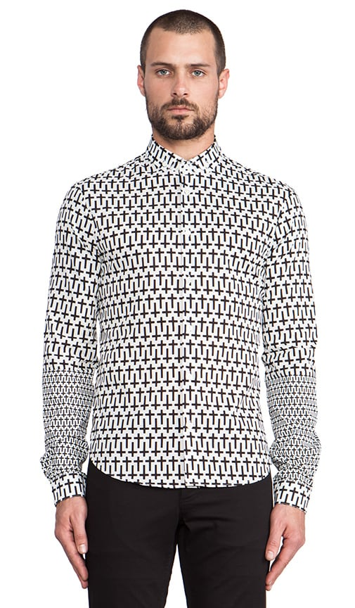 Print Patch Shirt