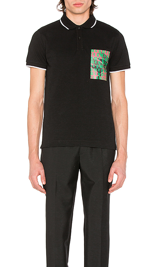 McQ Alexander McQueen Mcq Polo in Black