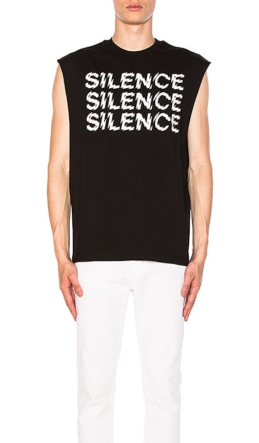 McQ Alexander McQueen Sleeveless Tee in Black