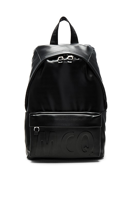 McQ Alexander McQueen Classic Backpack in Black