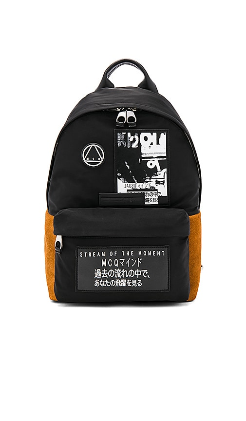 McQ Alexander McQueen Classic Backpack in Black