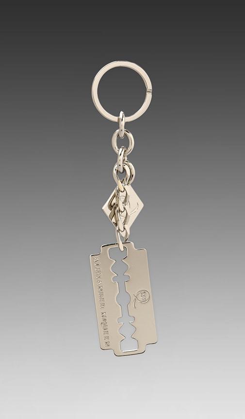 Razor Blade Key Ring