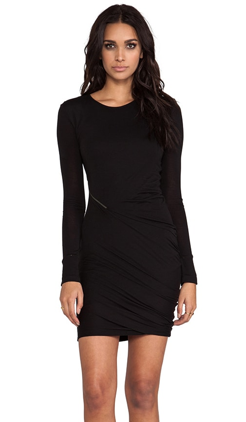 Zip Off Long Sleeve Dress