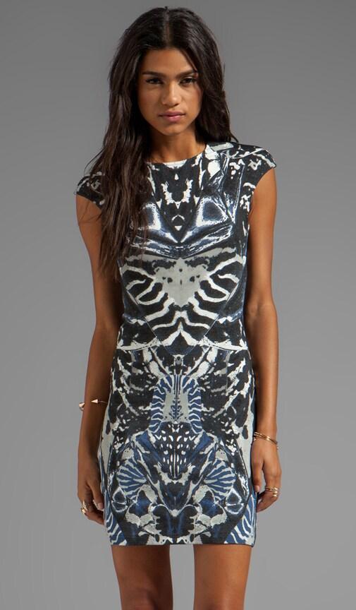 Interlock Kaleidoscope Print Dress
