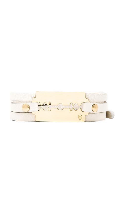 Triple Wrap Razor Bracelet
