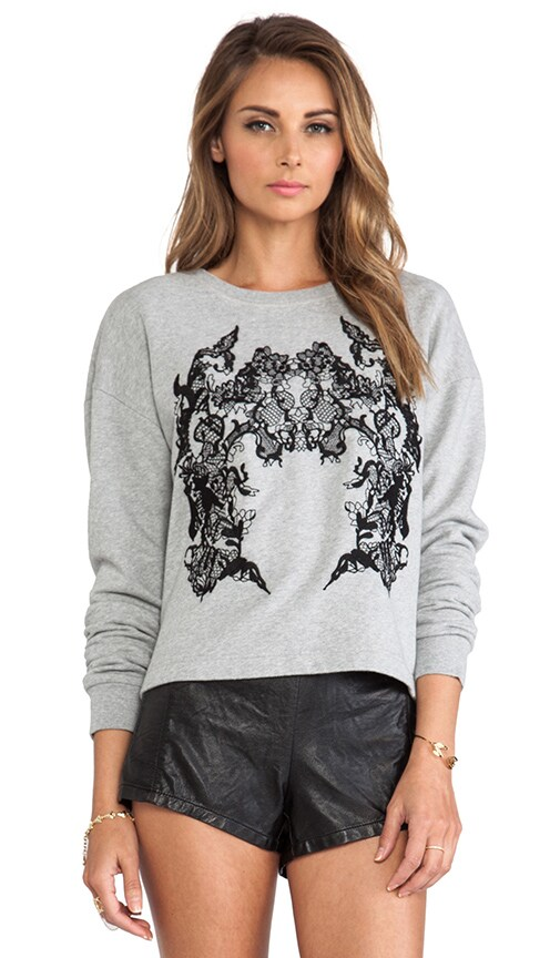Ribless Sweatshirt