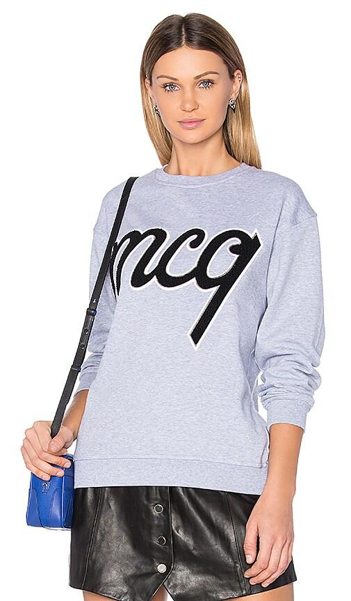McQ Alexander McQueen MCQ Classic Sweatshirt in Gray