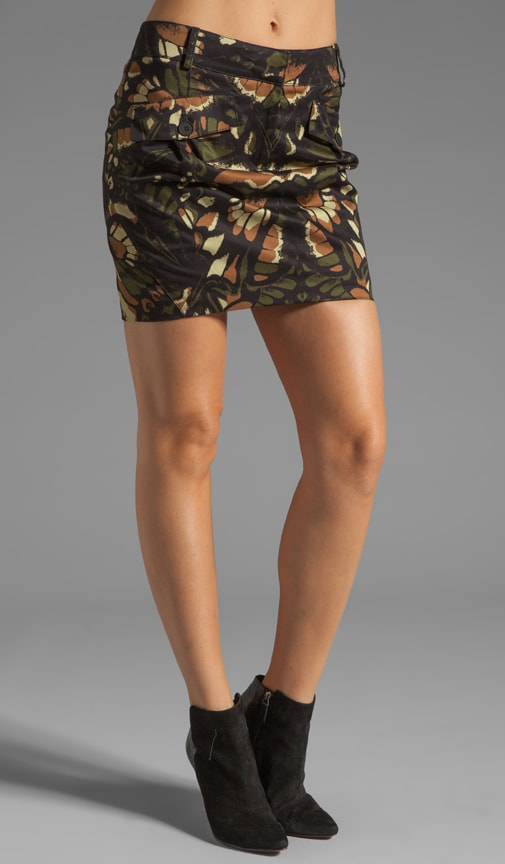 Mini Military Skirt