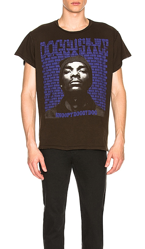 f9067480 Madeworn Snoop Dogg Tee in Dirty Black | REVOLVE