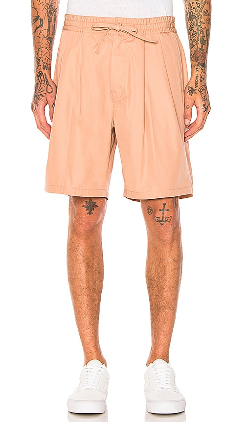 Maiden Noir Baggy Shorts in Coral