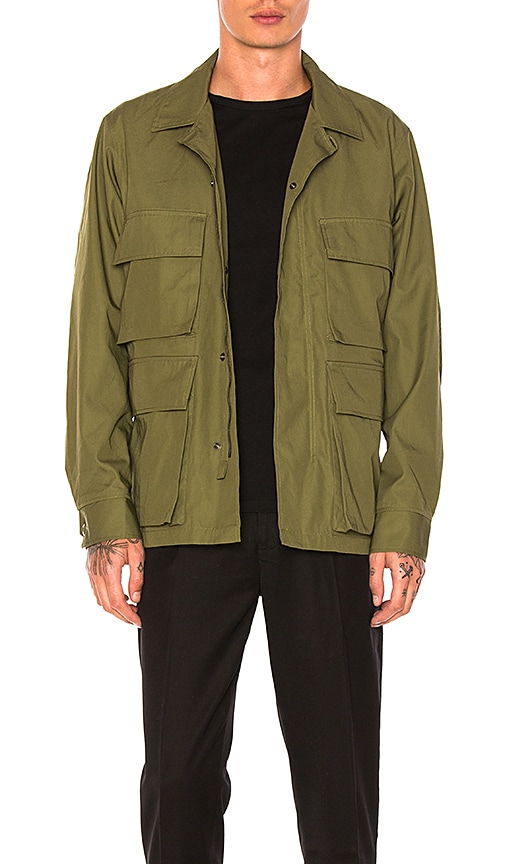 Maiden Noir Field Jacket in Green