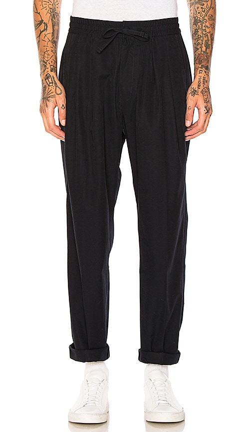 Maiden Noir Baggy Trousers in Navy